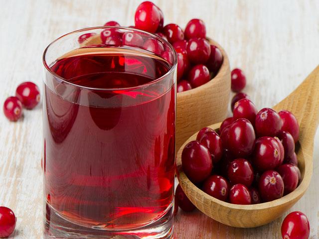 сок в ягодах