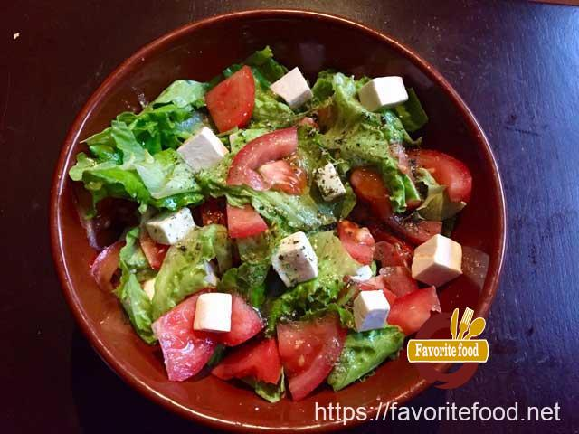 "салат с сыром ""Фета"""