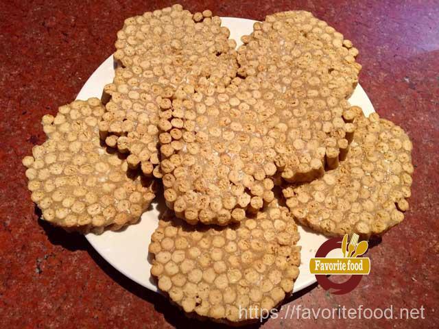 печенье в горошек