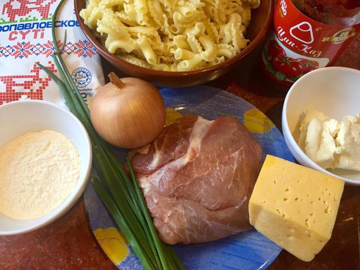 Запеканка «Лазанья» с макаронами