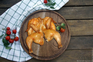 Курица в адыгейской соли